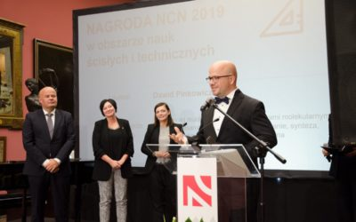 #JestemStartowcem: Nagroda NCN dla dra hab. Dawida Pinkowicza