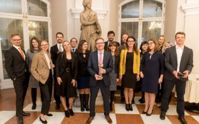 #JestemStartowcem: prof. Andrzej Dziembowski odebrał Nagrodę FNP