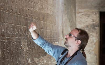 #JestemStartowcem: układanki egiptologa. Dr Filip Taterka