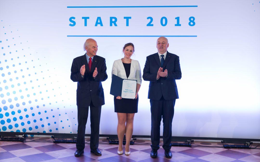 #JestemStartowcem: dr Katarzyna Magiera-Mularz z nagrodą za najlepszą pracę młodego polskiego badacza w dziedzinie biotechnologii