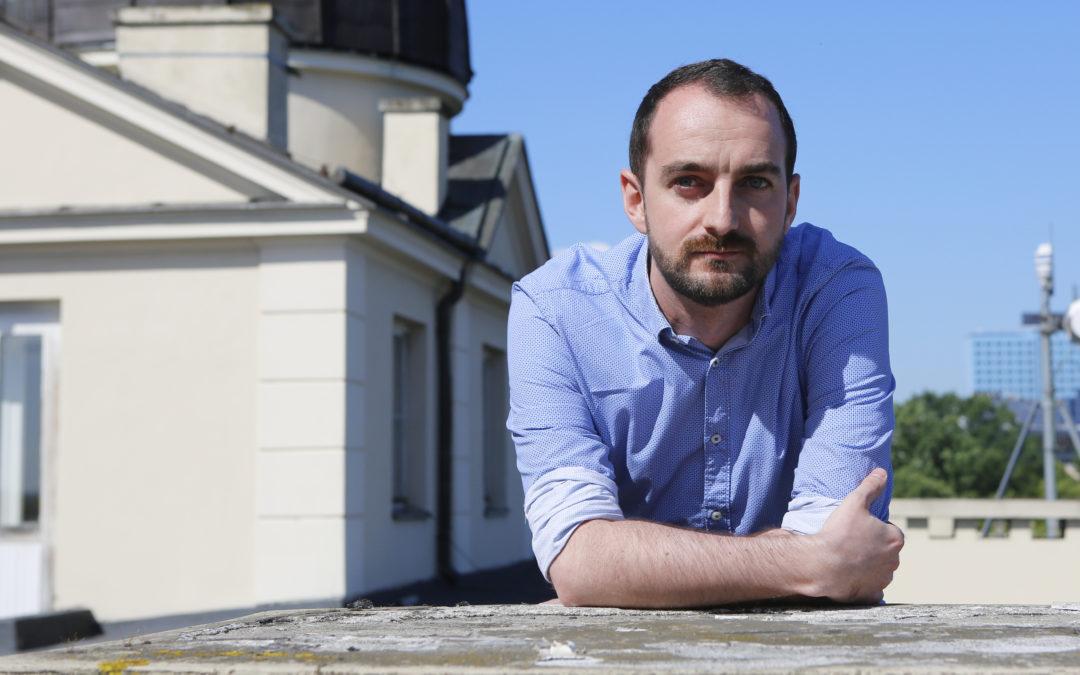 #JestemStartowcem: dr Przemysław Mróz zdobywcą Nagrody im. Franka Wilczka