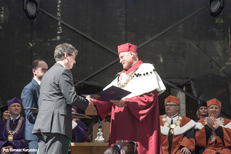Nagroda JM Rektora KUL dla naszego START-owca
